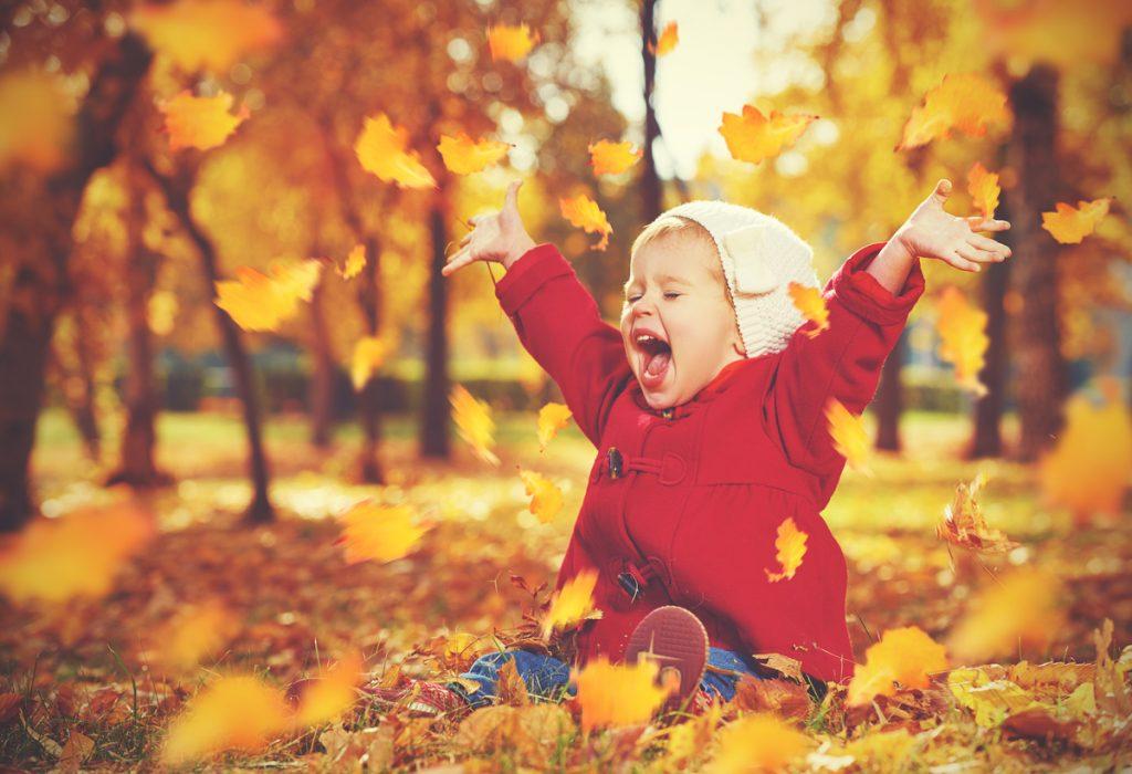 detský smiech